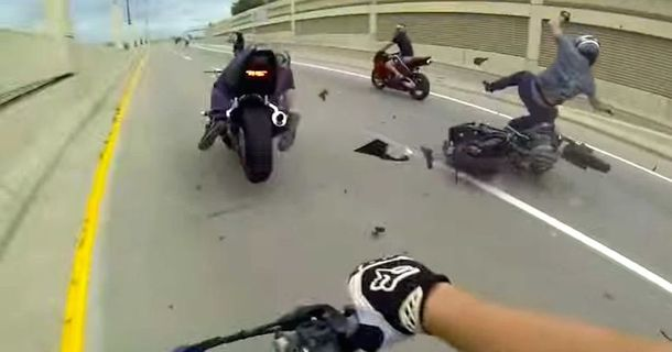 This Streetbike Crash Highlights The Dangers Of The Road